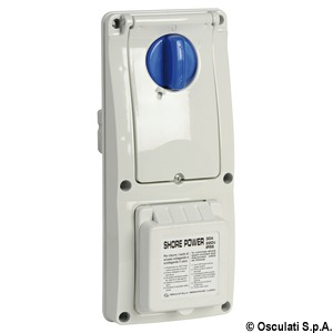 Watertight electric panel, 30 A title=