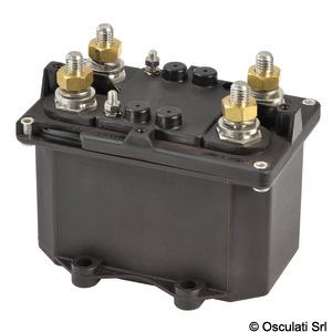 Автоматический двухполюсный выключатель аккумуляторных батарей$(реле общего питания с автономным питанием обмотки) title=