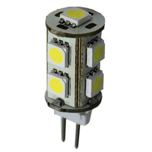 SMD LED bulb for spotlights, G4 screw title=