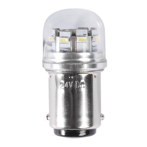 SMD LED bulb for glass cover LED spotlights, BA15D screw title=