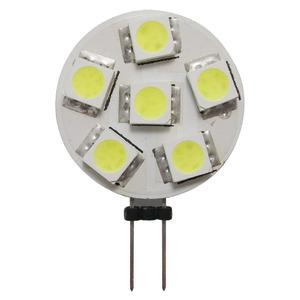 6-LED bulb G4 side connection Ø 24 mm