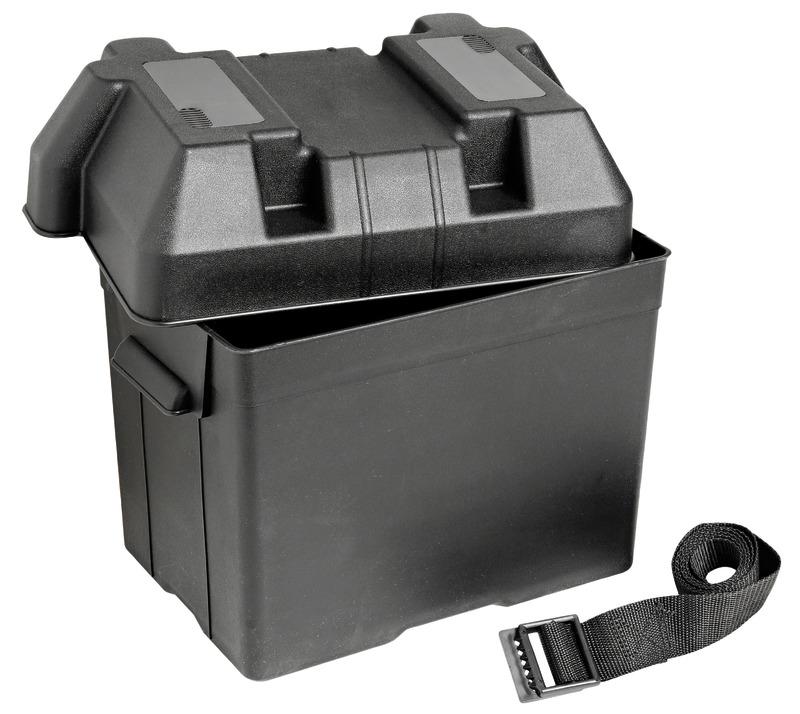 BATTERIA CASSETTA batteriebox BATTERIA SUPPORTO BATTERIA BATTERIA fissaggio supporto