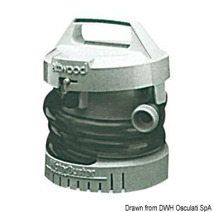Portable and high-capacity bilge pumps