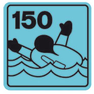 Salvagente autogonfiabile professionale 180 N (omologato EN ISO 12402-3) title=