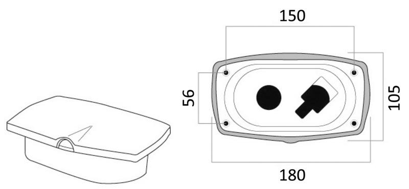 Osculati New Edge Shower Box 4m 15.257.21