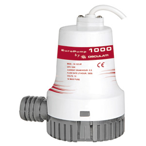 Europump II submersible bilge pump 1000 12 V