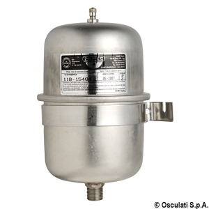 Universal accumulator tank for fresh water pumps and water heaters title=
