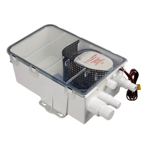 Grey water tank with Europump Auto pump title=