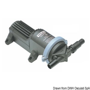 WHALE Gulper 220 shower/black water drain pump title=