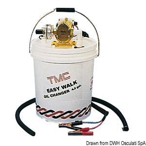 TMC professional kit for change oil in 4-stroke engines title=