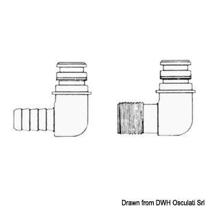 Spare fittings for FLOJET pumps
