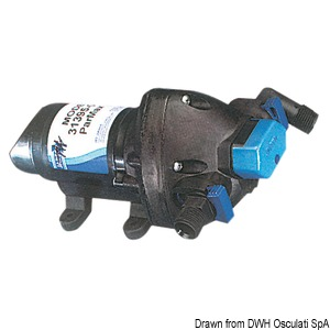 FLOJET self-priming fresh water pump title=