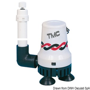 TMC aerator pump for livewell/baitwell tanks title=