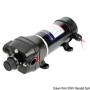 Europump Autoflush variable speed fresh water pump