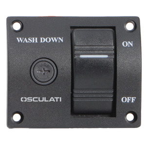 Panel switch for washdown pump title=