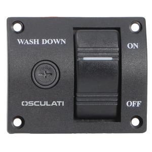 Kontrolna ploča za pumpe Washoown za pranje palube title=