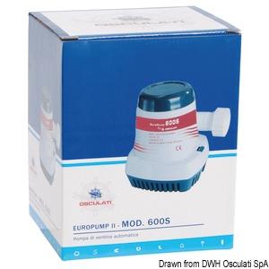Europump 600 S automatic bilge pump title=