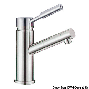 Diana toilet sink mixer with ceramic cartridge title=