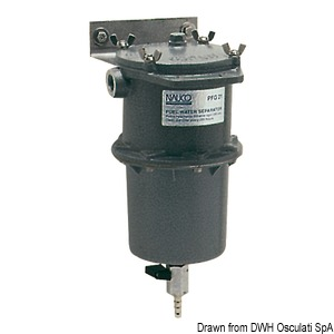 Centrifugal water/fuel separator filter (diesel or petrol), 150 micron title=