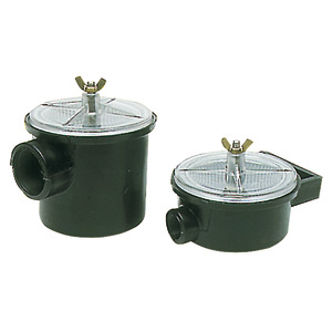 Engine raw water strainers