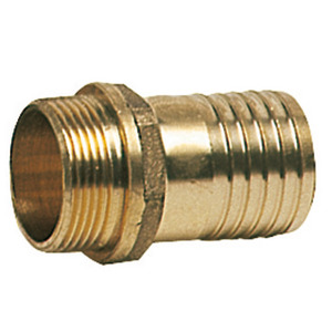 Cast brass male hose connectors