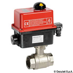Remote electrocontrolled ball valves PN40