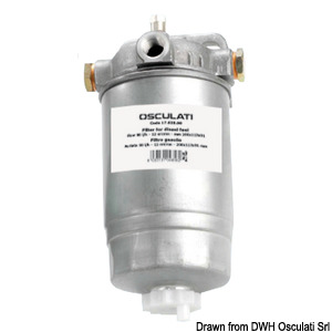 12-micron paper filter for diesel fuel title=