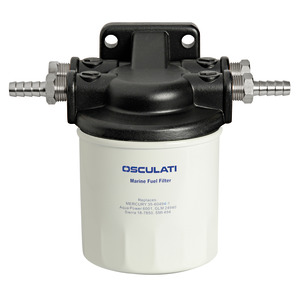 10-micron gasoline/diesel filter with disposable cartridge title=