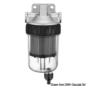 Water-fuel filter/separator title=