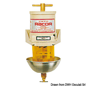 RACOR fuel diesel filters - Single version