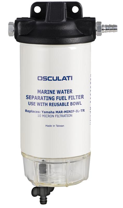 petrol filter w/water/fuel separator