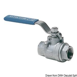 Shut-off full flow ball valve female/female title=