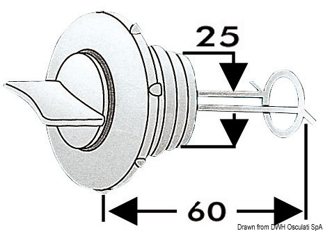 Water drain plug