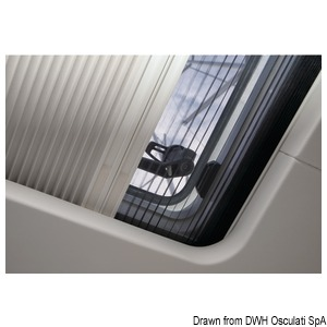 OCEANAIR SkyScreen Pleated blind and flyscreen – surface mounted