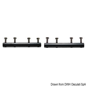 Frame coupling rod f. LEWMAR Low Profile