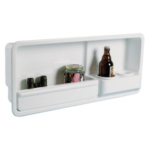 Side housing fitted with two glass/can/small bottle holder title=