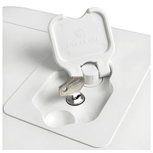 1 pezzo Bussola divisore per alette da 15,2 cm per lavori in pelle regolabile con serratura in acciaio al carbonio Utoolmart in pelle 150 mm