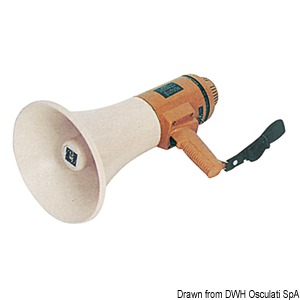 Professional electronic bullhorn