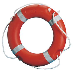 MED (Marine Equipment Directive) type-tested ring lifebuoys / Italian Ministerial Decree 385/99