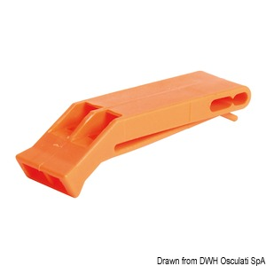 Whistle for life vests