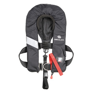 Sail Pro self-inflating lifejacket - 180N (EN ISO 12402-3) title=