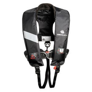 Professional self-inflatable lifejacket 180N (EN ISO 12402-3) title=