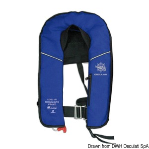 EXP self-inflatable lifejacket  - 150 N (EN ISO 12402-3) title=