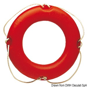 Ring lifebuoy (it conforms to the old Ministerial Decree 20/4/78) title=