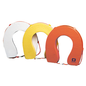 Soft horseshoe lifebuoy. 100% thickness title=