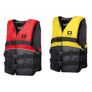 Dominator Ski buoyancy aid fluo red junior
