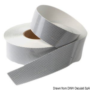 Type-approved reflective tape. 2-m roll