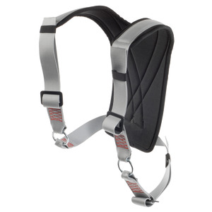 Harness with climbing harness option