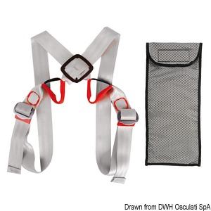 Ultra-light safety belt  title=