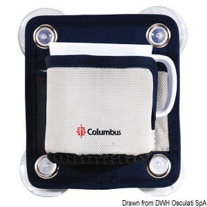COLUMBUS cup holding pouch with handle title=
